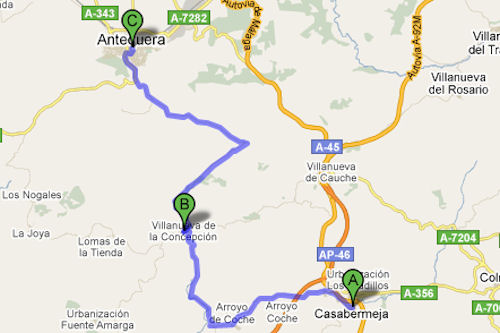 Costa Del Sol motorcycling route