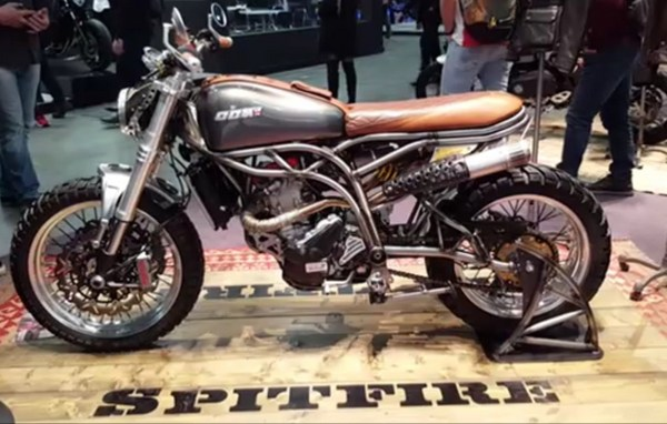 CCM Spitfire at the 2020 EICMA show